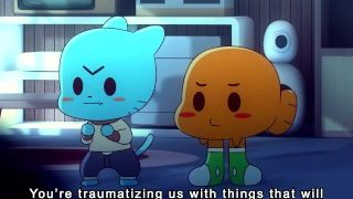 Amazing World of Gumball – Catgirls