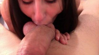 Exxtra small Danika Mori gets fucked from behind!Hot and pleasure cumshot!