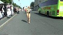 sexy naked public walking hungary