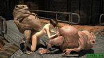 messy goblin sperm sci fi 3d porn